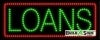loans business led neon signs