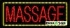 red massage business led neon signs