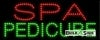 spa predicures business led neon signs