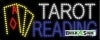 tarot reading business led neon signs
