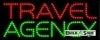 travel agency business led neon signs