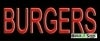 burgers food and beverage budget neon signs