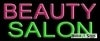 beauty salon business budget neon signs