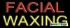 facial waxing business budget neon signs