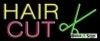 hair cut business budget neon signs