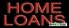 home loans business budget neon signs