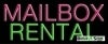 mailbox rental business budget neon signs