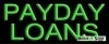 payday loans business budget neon signs