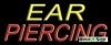 ear piercing business budget neon signs