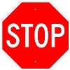giant stop sign stock traffic signs