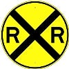railroad stock traffic signs