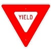 yield stock traffic signs