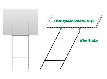 24 x 10 wire stake buildasign com rh buildasign com Wiring-Diagram Flashing Sign Recessed Wiring Diagram