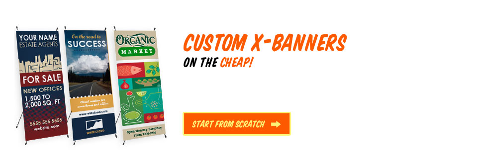 Get Your Custom Retractable Banners on the Cheap!