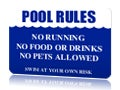 Safety Pool Safety Signs