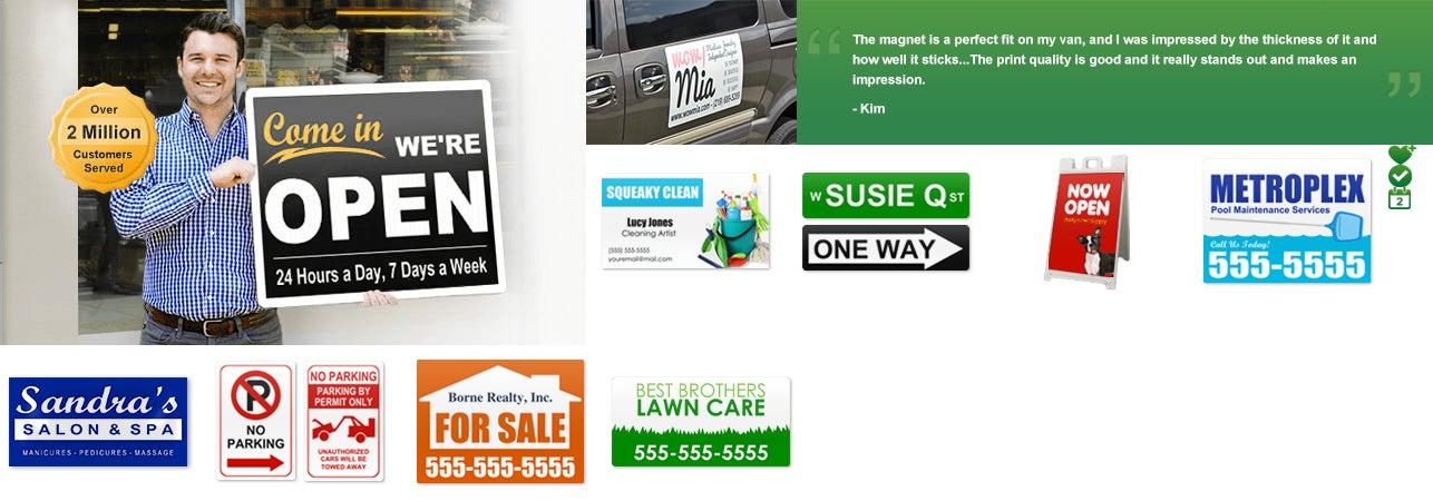 Build a sign promo code